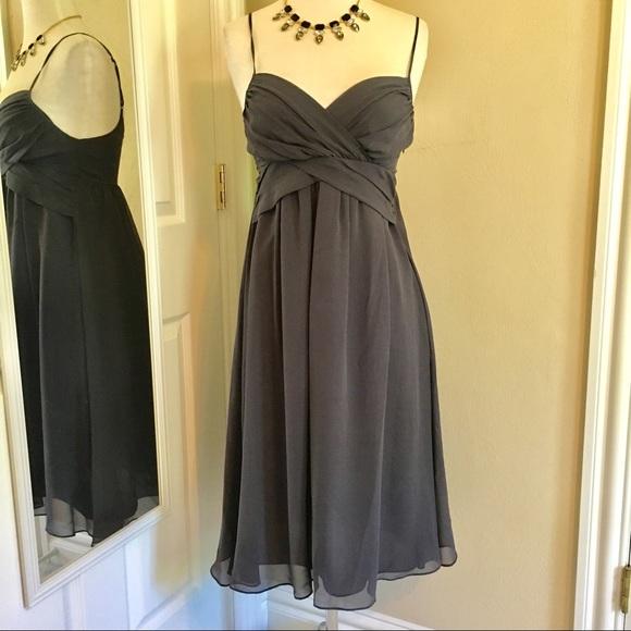 912c7285484f5 The Limited Gray Silk special occasion dress. M_5cc4758b7f617f0638e8f308